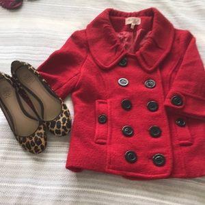 Red light coat